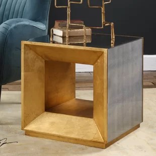 winston cube end table