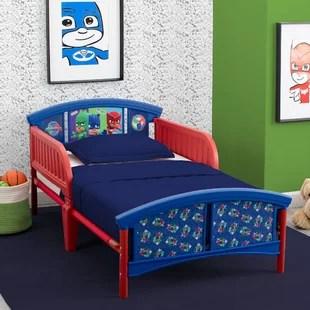 pj masks plastic toddler platform bed