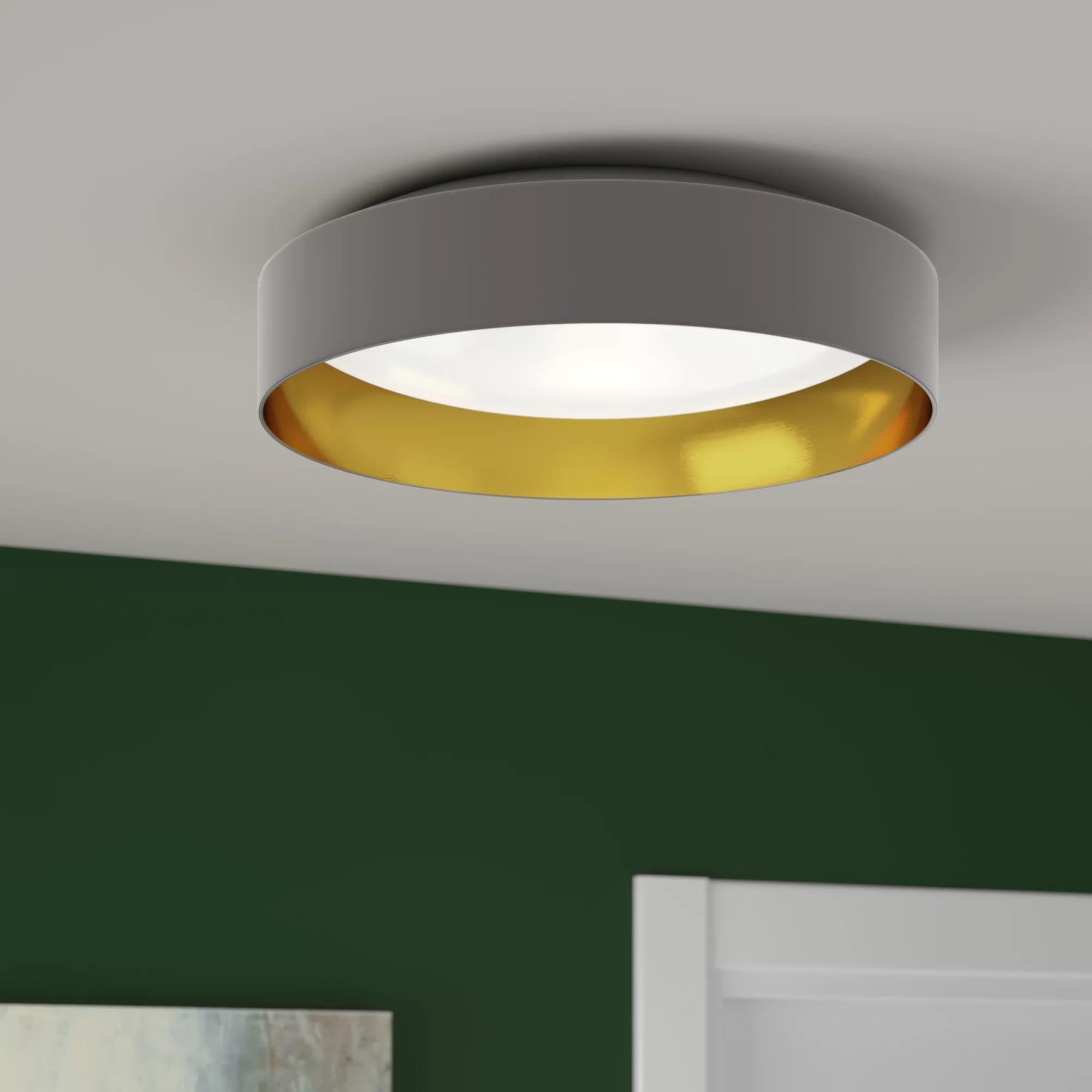 led integrated flush mount lighting