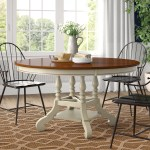 Farmhouse Rustic Round Dining Tables