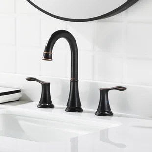 oil rubbed bronze bathroom sink faucets