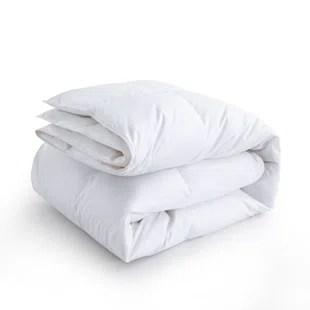 600 fill power all season 75 white down comforter