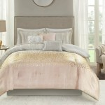 Mercer41 Zetilla Blush 7 Piece Comforter Set Reviews Wayfair