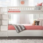 Harriet Bee Salem Staircase Twin Over Twin Bunk Bed With Trundle Reviews