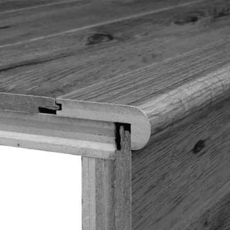 Bruce Stair Nose Spice Oak Wayfair | Bruce Hardwood Stair Treads | Trim | Autumn Glen | Plywood | Red Oak | Nose Molding