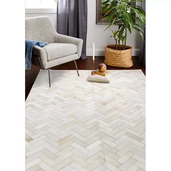 modern contemporary patchwork cowhide rugs