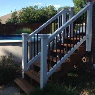 Porch Stair Railings You Ll Love In 2020 Wayfair   New Railings For Outdoor Stairs   Railing Kits   Metal   Aluminum   Railing Ideas   Wood