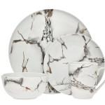 Godinger Silver Art Co Rayo 16 Piece Dinnerware Set Service For 4 Reviews Wayfair Ca