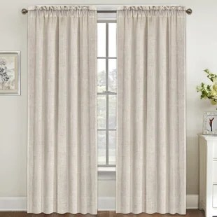 linen sheer curtains drapes you ll