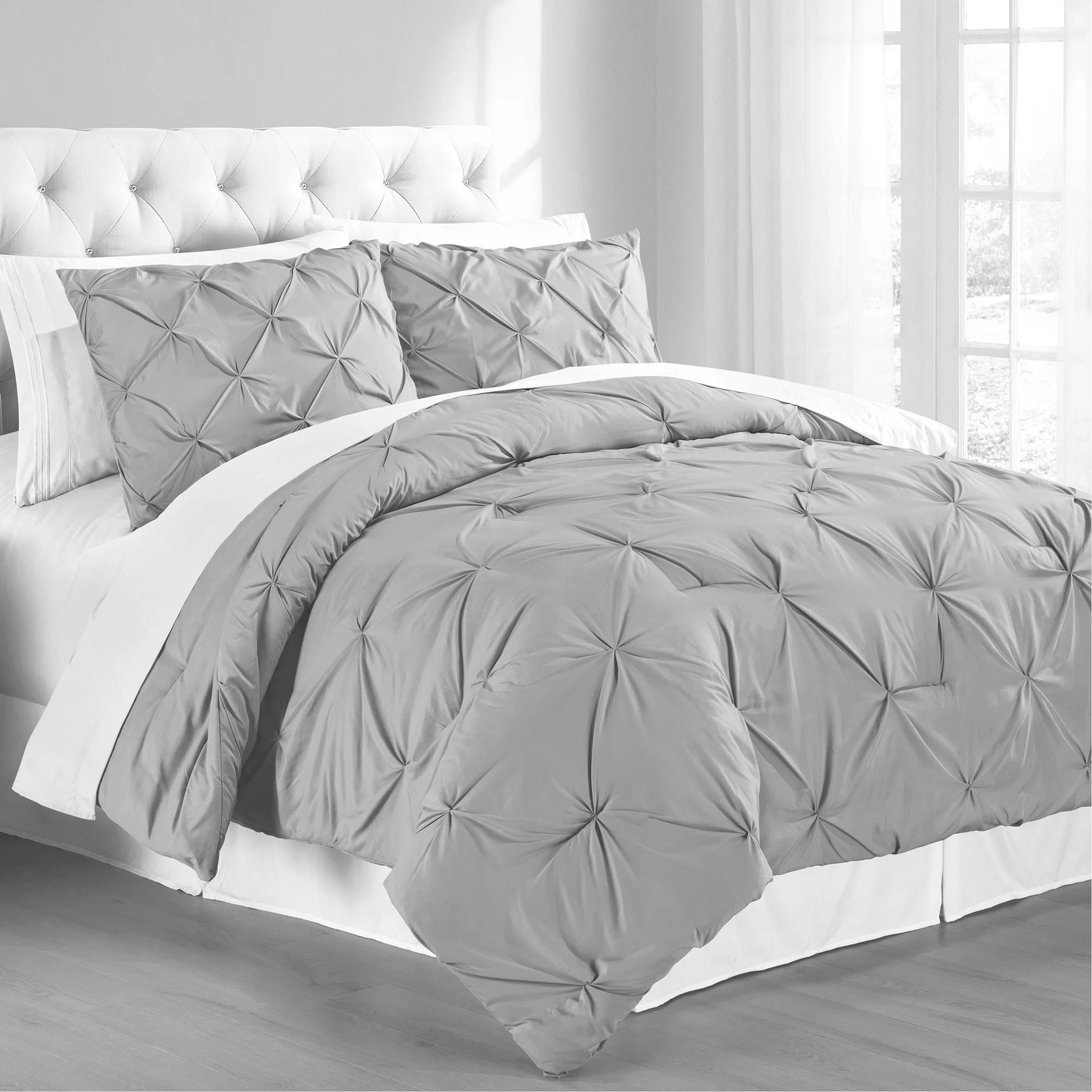 gray comforter sets wayfair