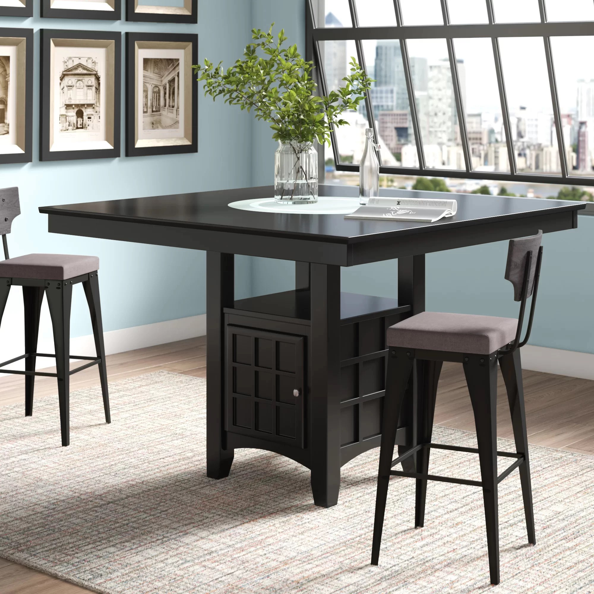 8 Seat Pub Table Kitchen Dining Tables You Ll Love In 2020 Wayfair