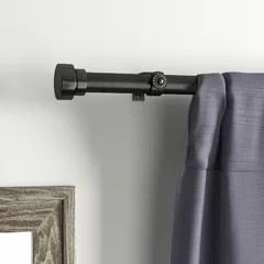 150 inch curtain rod wayfair