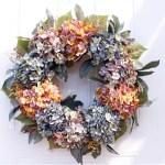 Blue Fall Wreaths You Ll Love In 2021 Wayfair