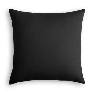 black linen throw pillows you ll love