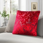 Red Velvet Throw Pillows You Ll Love In 2021 Wayfair
