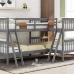 Latitude Run Abigel Twin L Shaped Bunk Bed Reviews