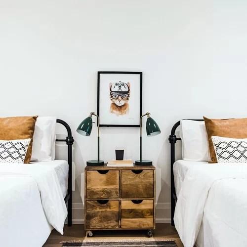 20 modern rustic kids bedroom design