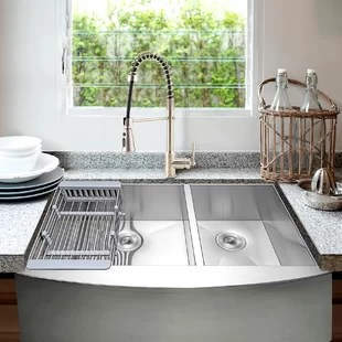 33 inch kitchen sinks you ll love in