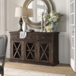 Black Rustic Sideboards Buffets You Ll Love In 2020 Wayfair