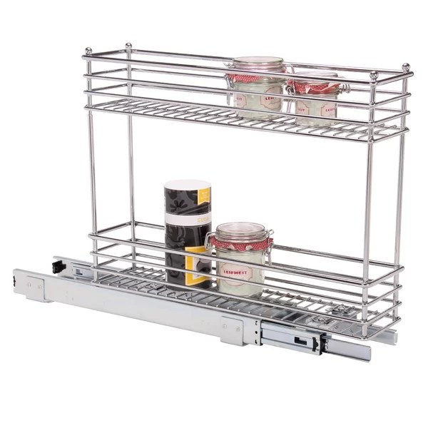 narrow pull out drawer