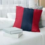 East Urban Home Tennessee Red Football Throw Pillow Wayfair