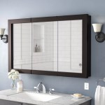 Winston Porter Searle Surface Mount Framed 3 Door Medicine Cabinet With 2 Shelves Reviews