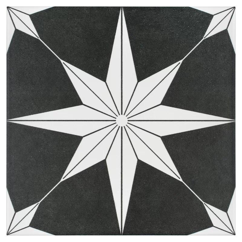 salerno 10 x 10 porcelain field tile