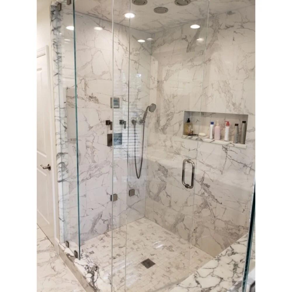 penthouse 12 x 24 porcelain marble look wall floor tile