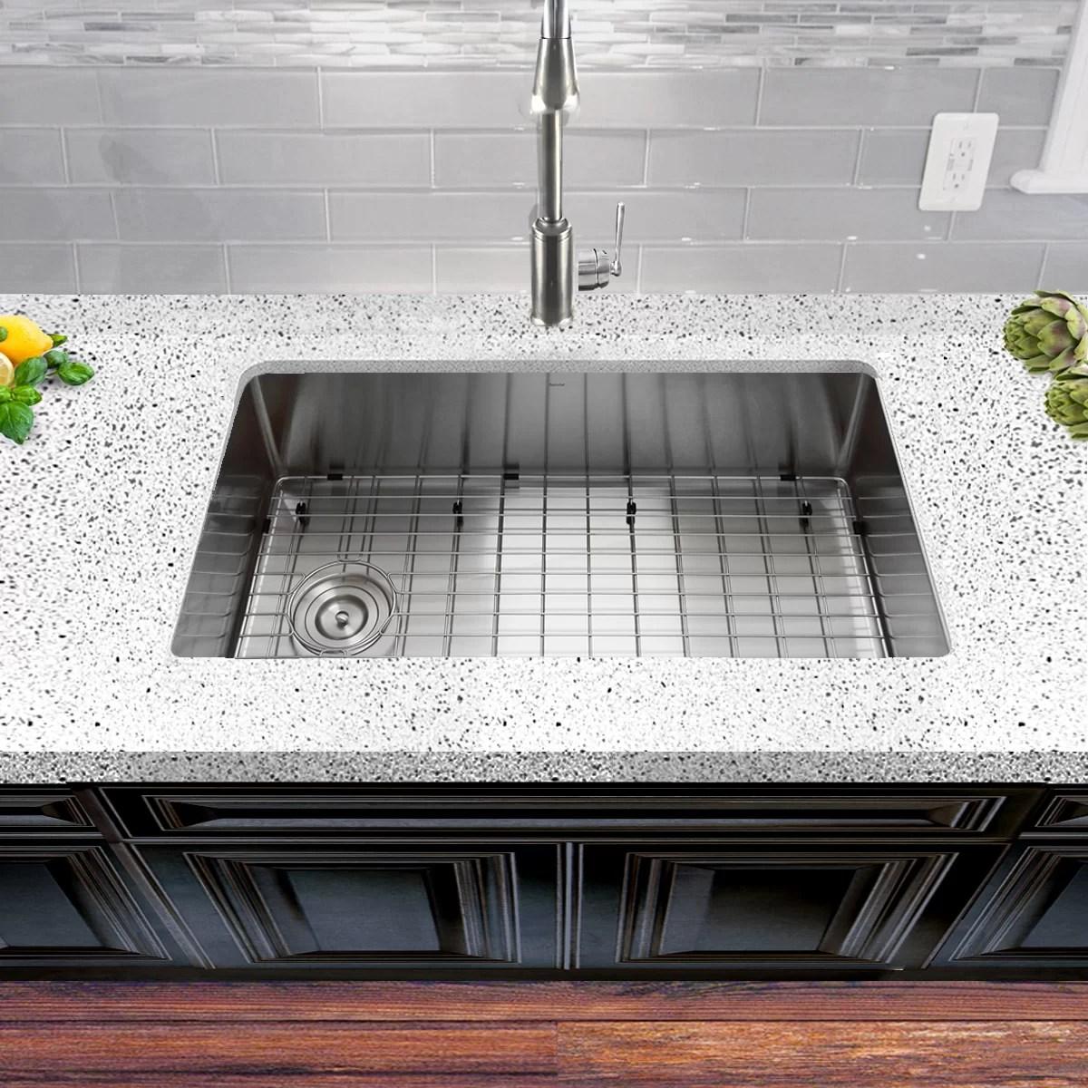 pro series 32 x 18 undermount kitchen sink