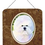 Caroline S Treasures Bichon Frise Painting Print Plaque Wayfair