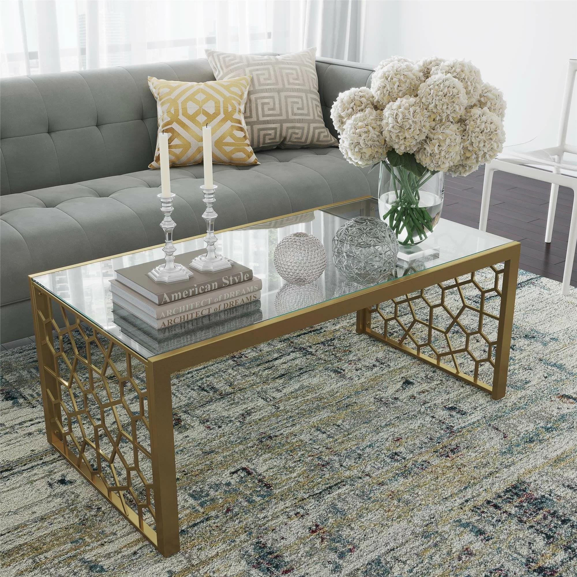 juliette sled coffee table