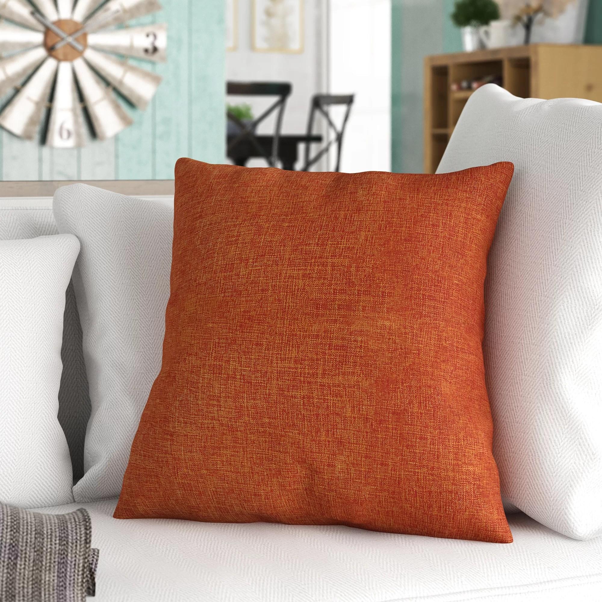 orange pillow cover throw pillows you