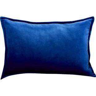 jarie rectangular velvet lumbar pillow cover insert