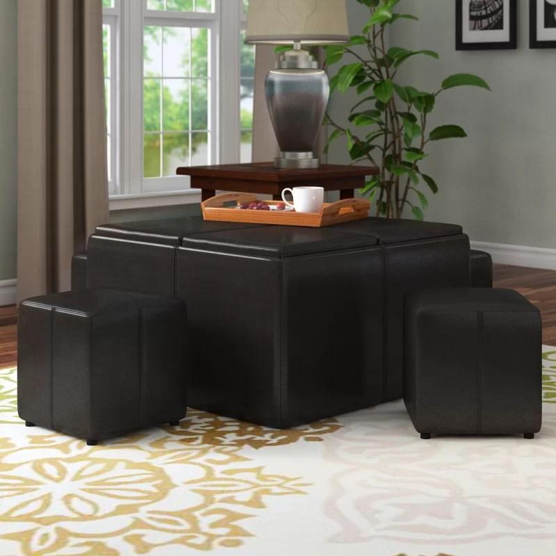turner 5 piece coffee table set