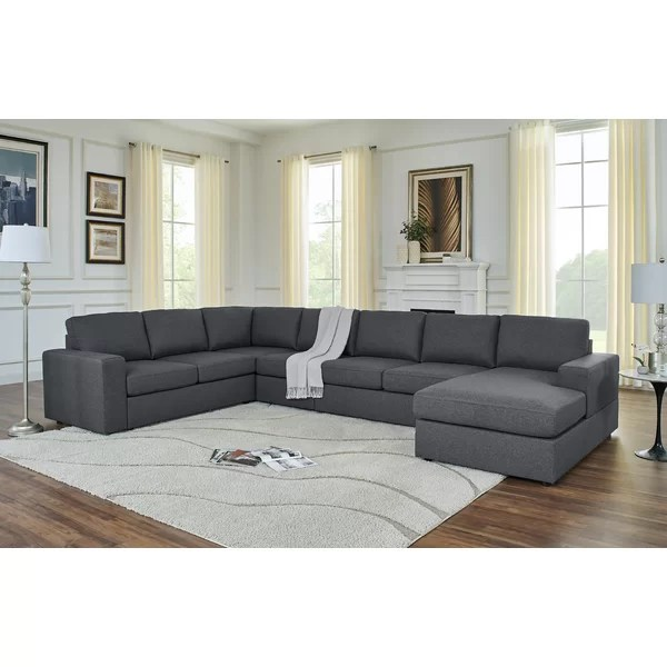 dark blue denim sectional sofa