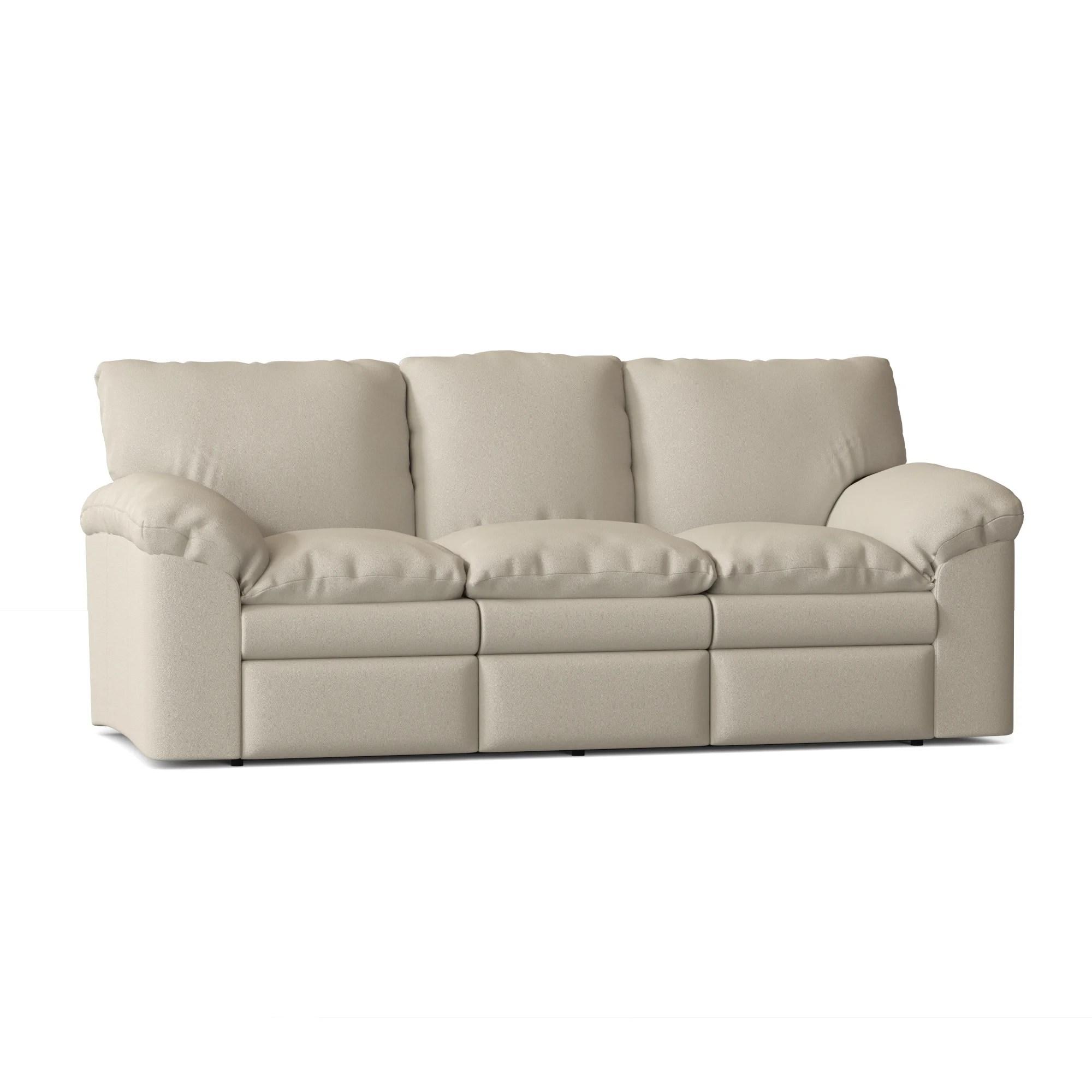 el dorado reclining 92 pillow top arm sofa