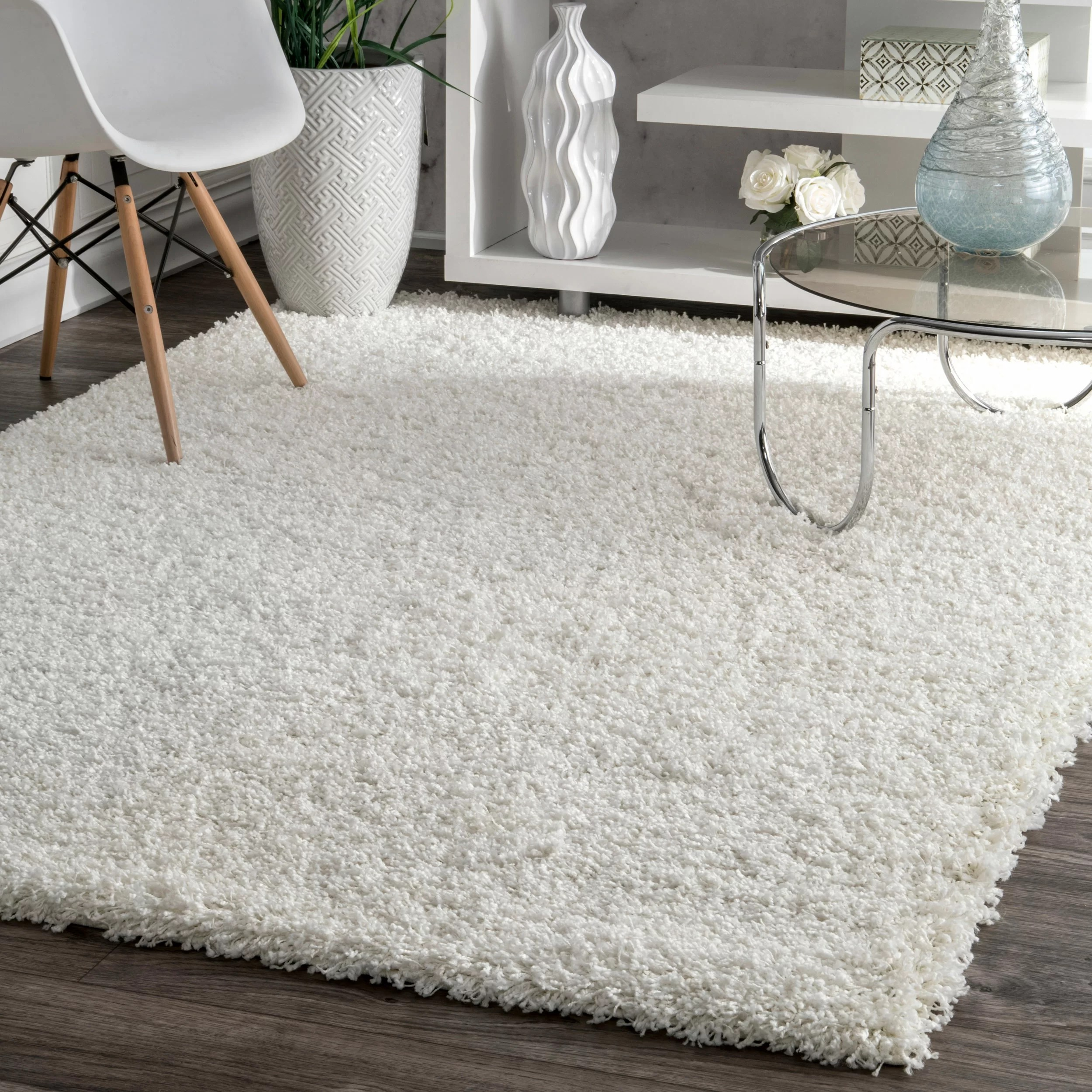 willa arlo interiors tapis a poil long blanc welford et commentaires wayfair ca