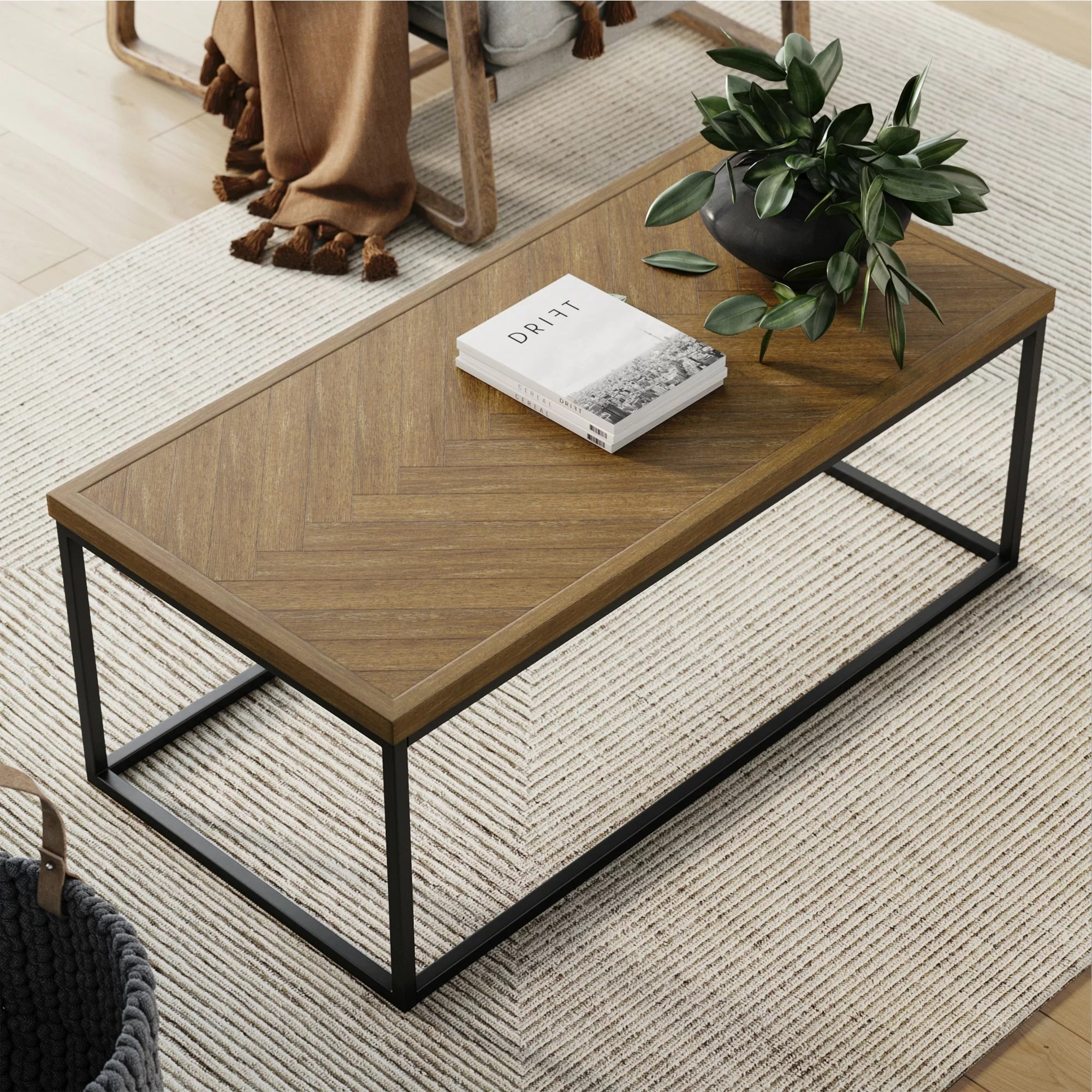 renna frame coffee table