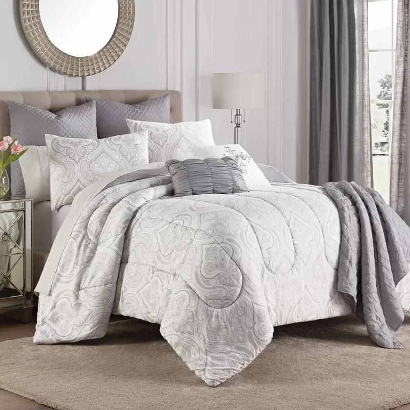 aria reversible comforter set