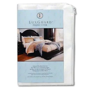 luxguard allergen bed bug and dust mite pillow protection zip cover