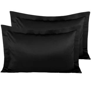black pillow shams euro shams you ll
