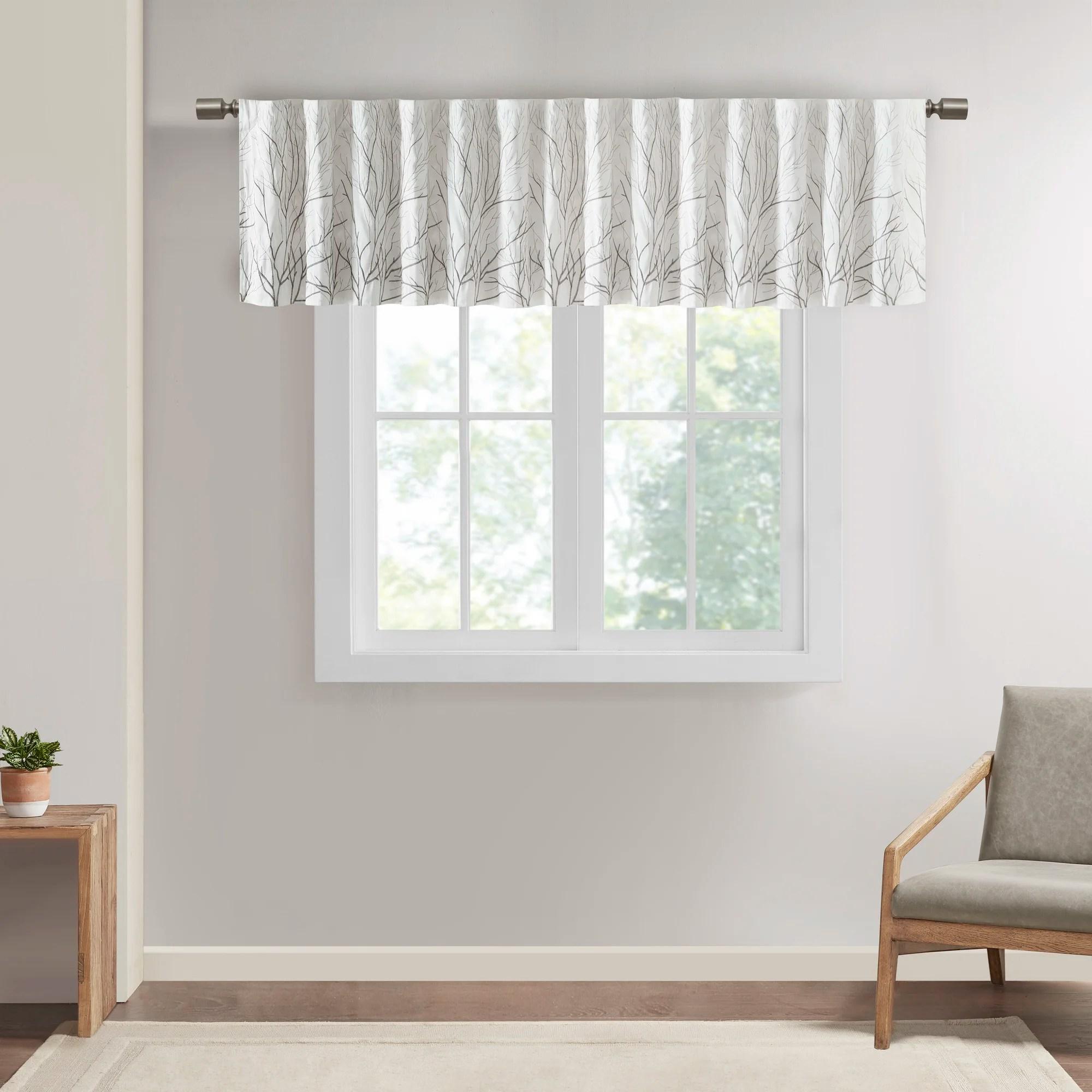 Window Valances Cafe Kitchen Curtains