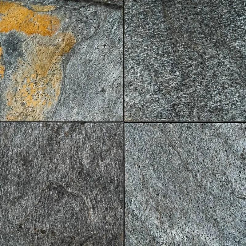 natural cleft face gauged back 24 x 24 slate wall floor tile
