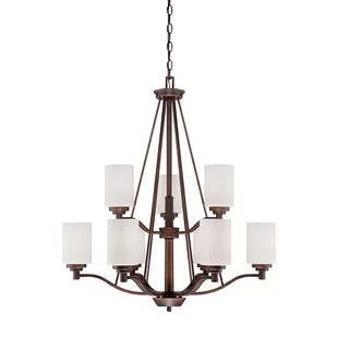 Hester 9-Light Shaded Chandelier