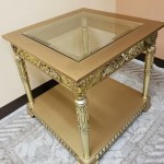 Infinityfurnitureimport A 37 Coffee Table In Matching End Table Wayfair