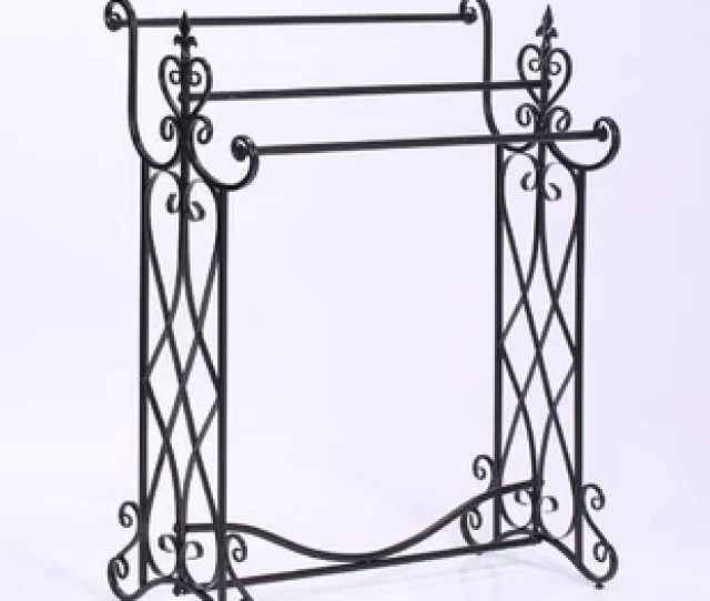Tier Metal Freestanding Towel Rack
