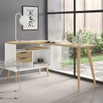 Copenhagan L Shape Desks Reviews Allmodern