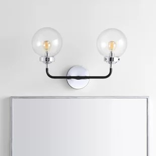 claudio 2 light dimmable armed sconce
