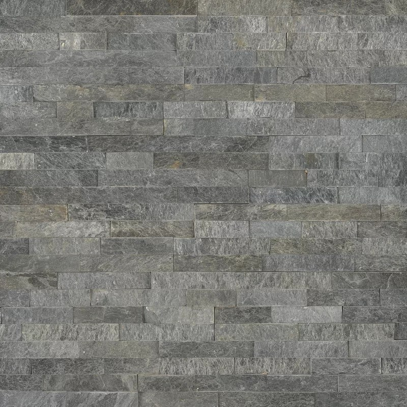 sedona platinum 6 x 24 natural stacked stone tile