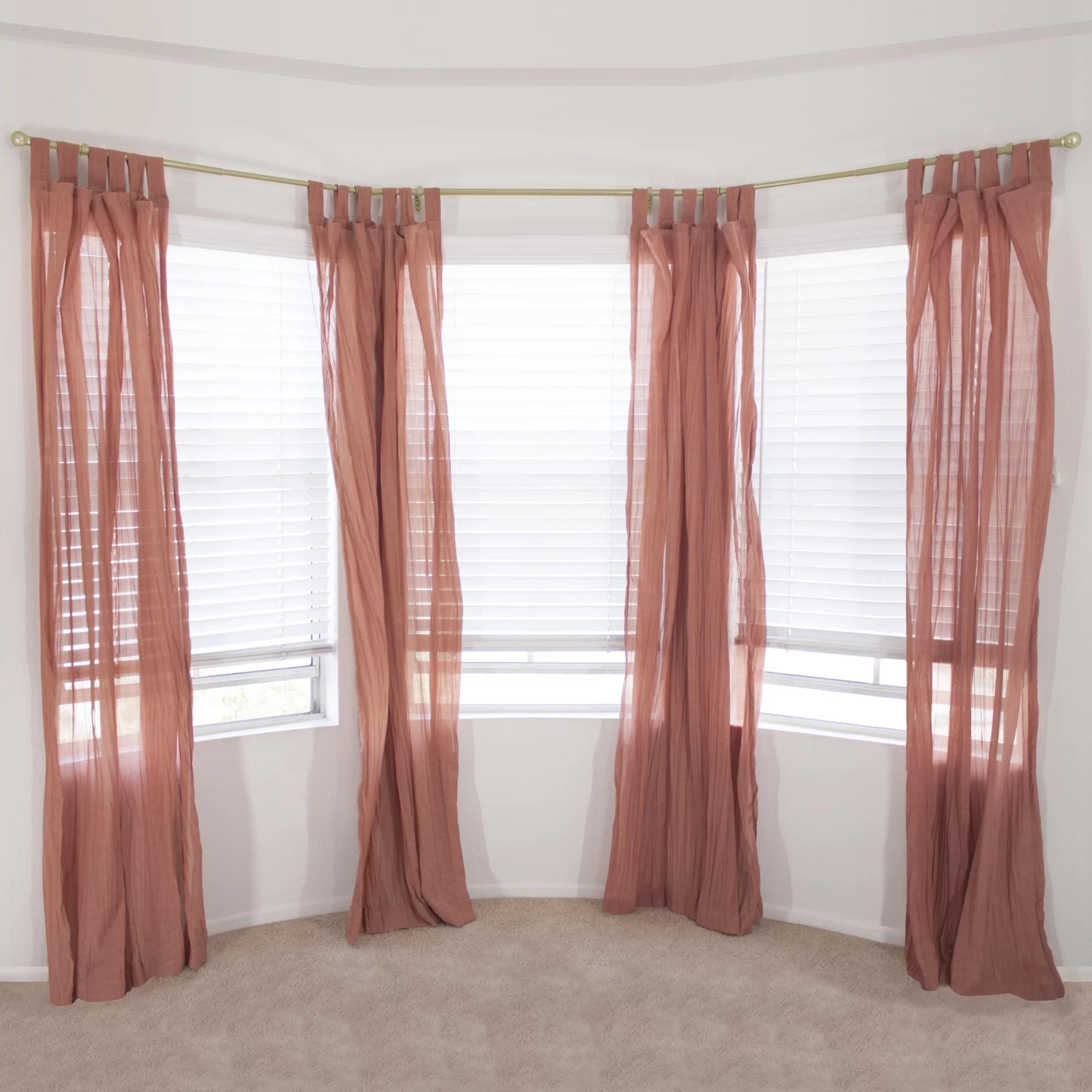 Red Barrel Studio Eola Bay Window Single Curtain Rod Reviews